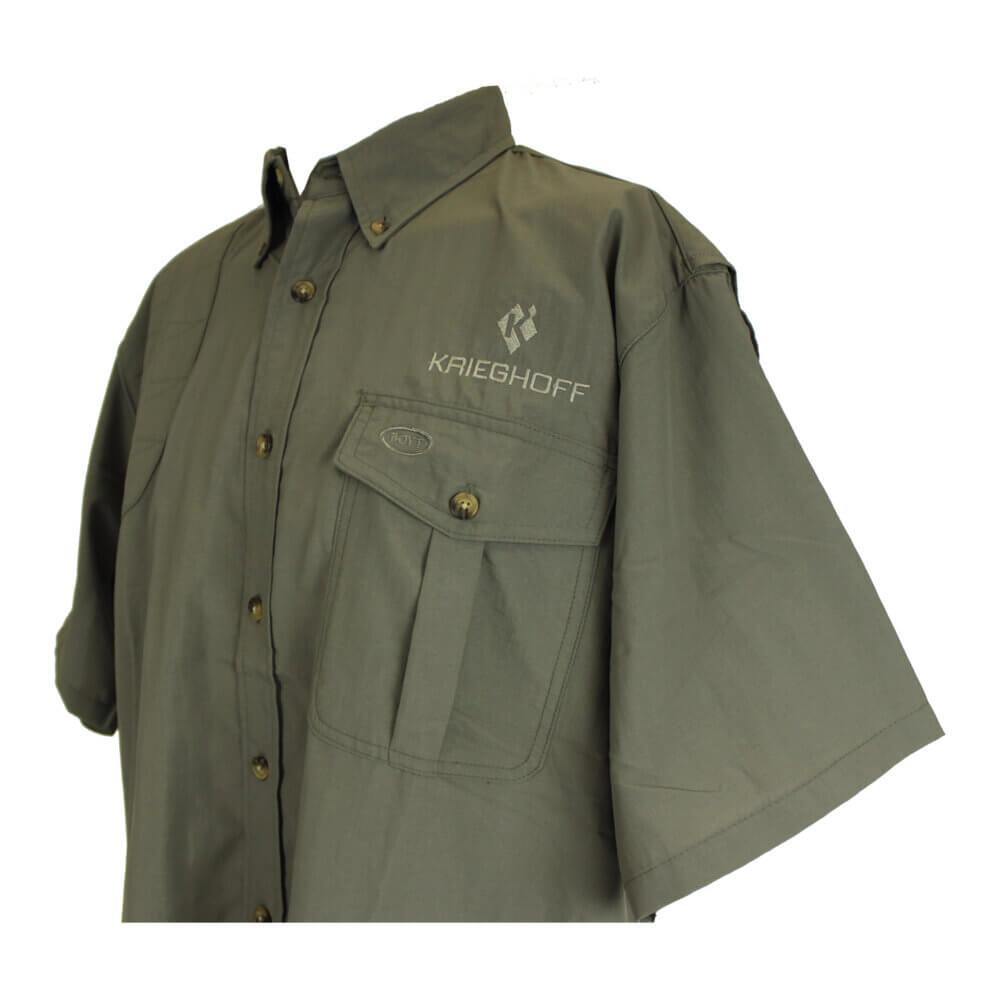 Krieghoff Pica Zuro Short Sleeve Mesh Back Shirt by Boyt, Sage