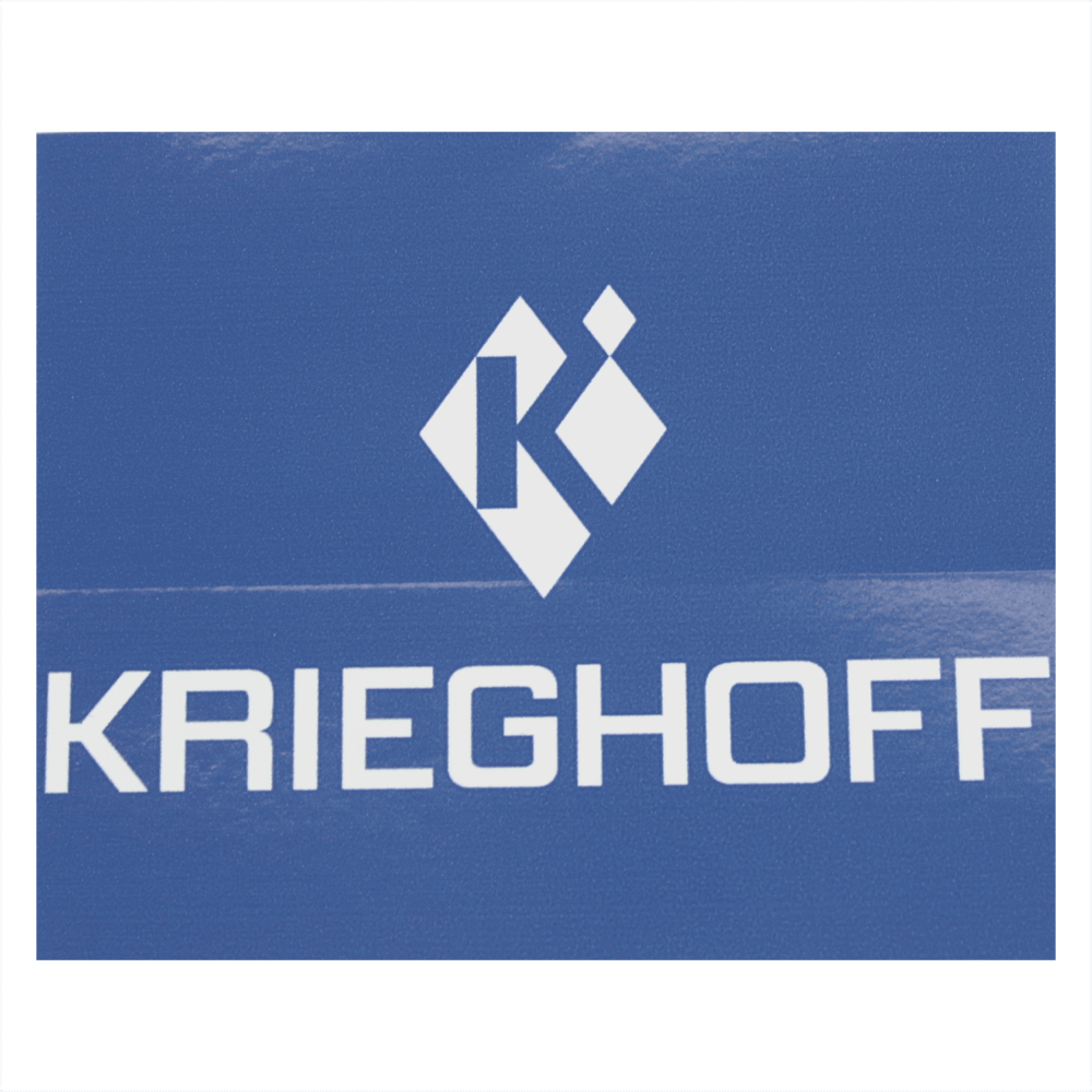 Krieghoff Logo Sticker, Blue