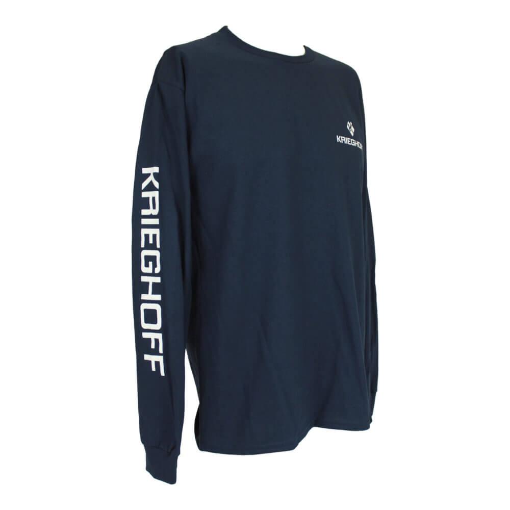 Krieghoff Long Sleeve T-Shirt, Navy Blue