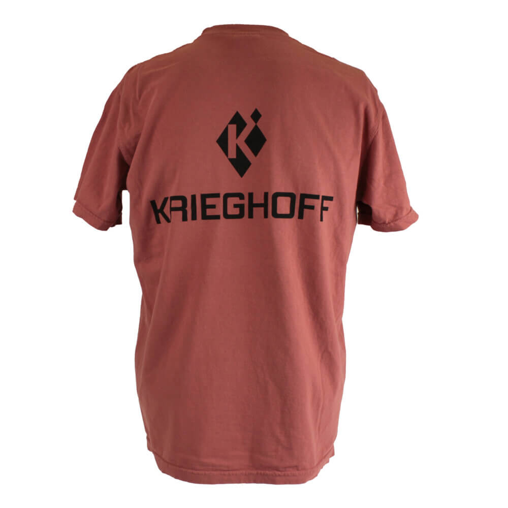 Krieghoff T-Shirt, Light Red