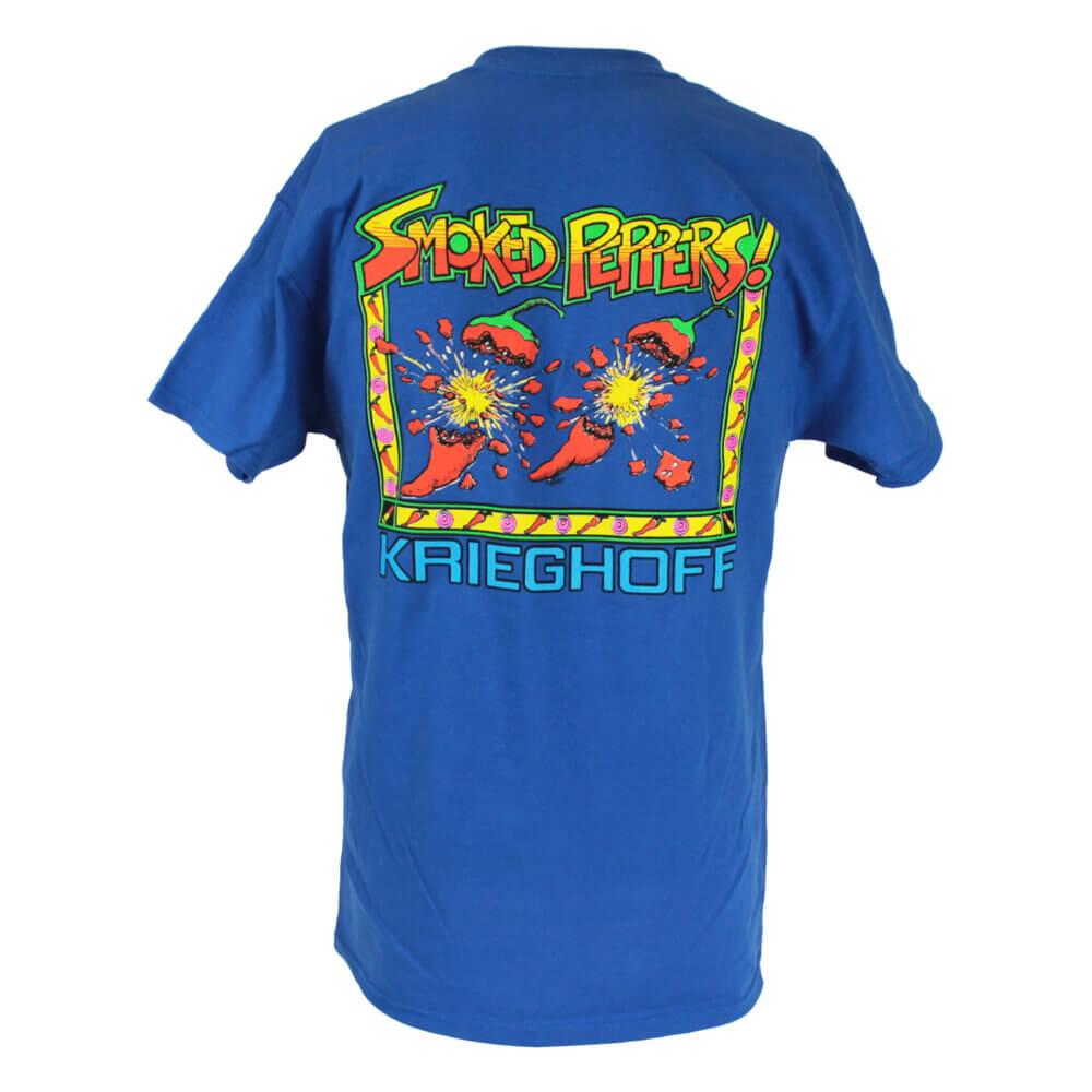 Krieghoff Smoked Peppers T-Shirt, Deep Royal