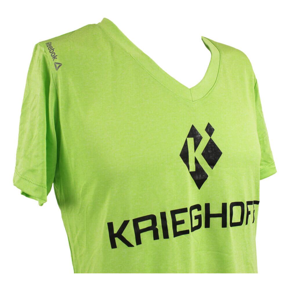 Reebok® Ladies' Performance T-Shirt, Lime Green