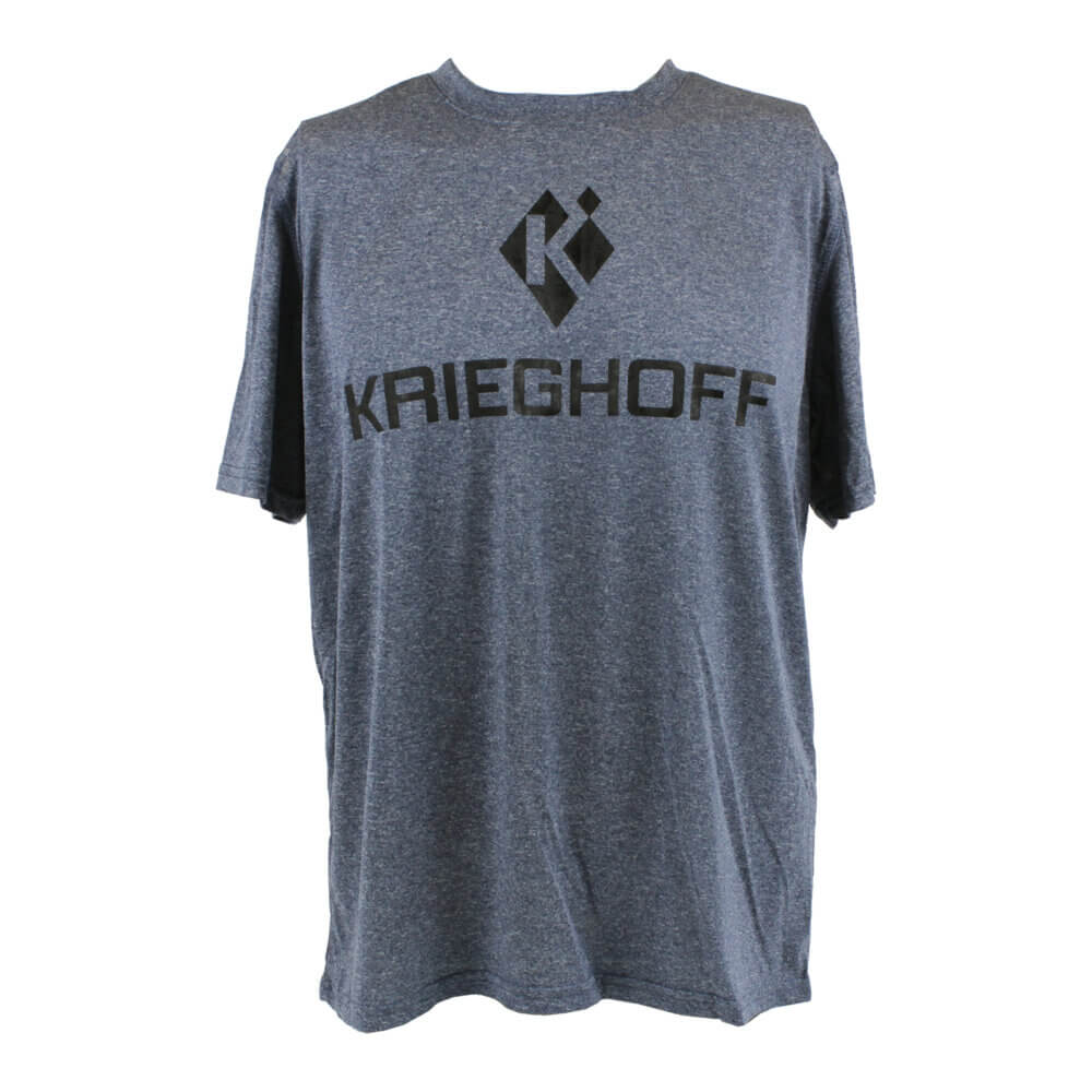 Reebok® Performance T-Shirt, Heather Navy