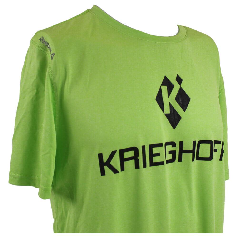 Reebok® Performance T-Shirt, Lime Green