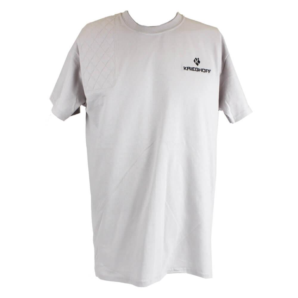 Krieghoff Short Sleeve Shooting T-Shirt, Ice Grey, Left Handed