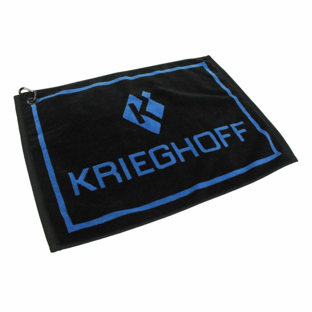 Krieghoff Woven Gun Towel – Blue/Black