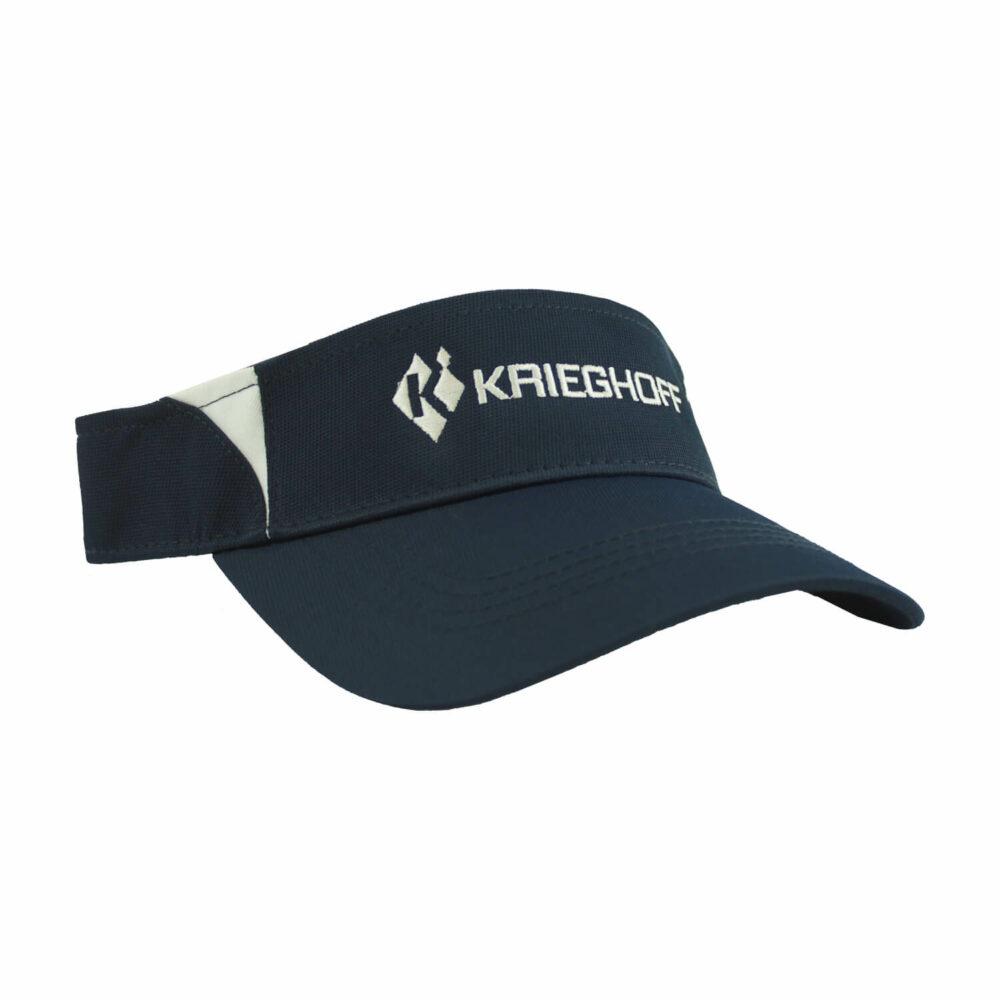 Krieghoff Performance Visor, Navy Blue