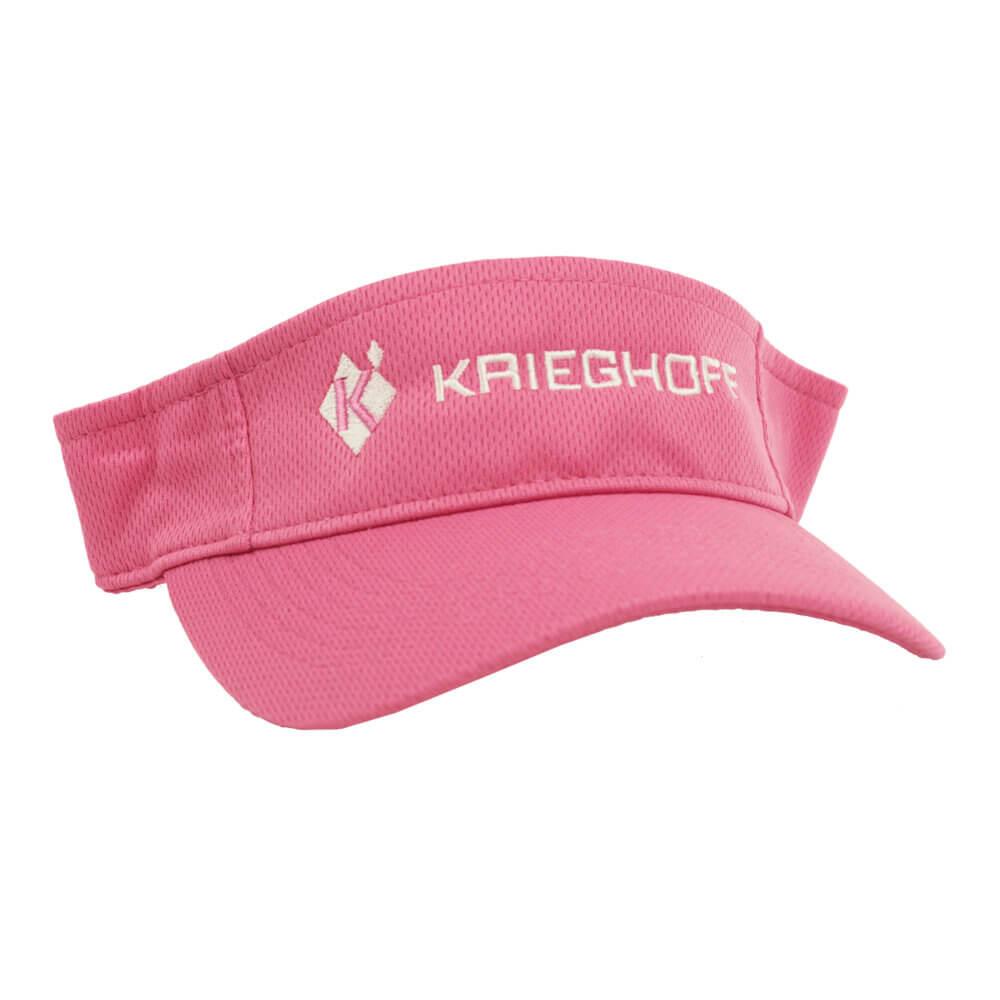 Krieghoff Performance Mesh Visor, Pink