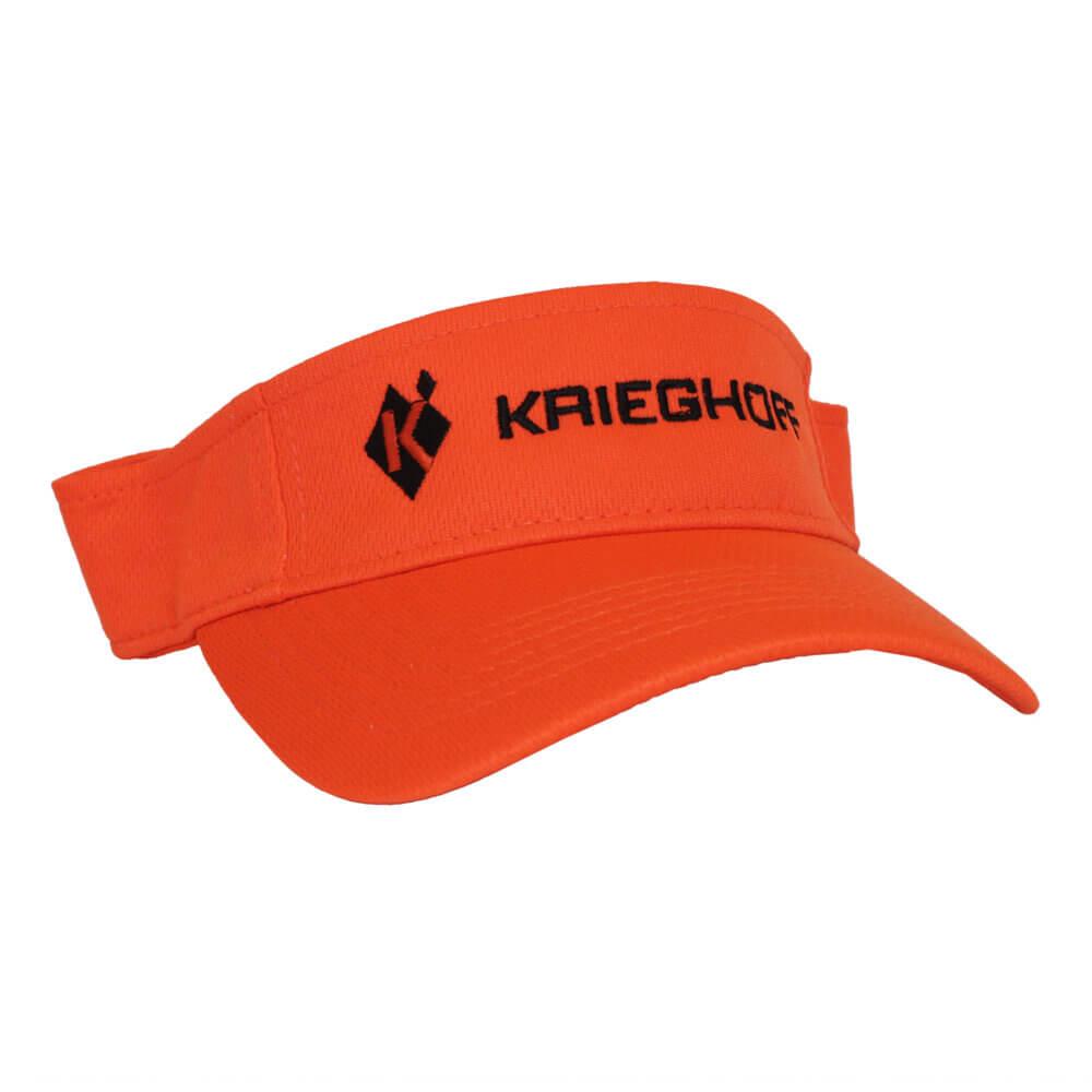 Krieghoff Performance Mesh Visor, Neon Orange